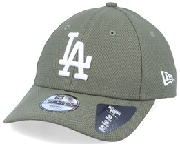 Kids Los Angeles Dodgers Diamond Era Essential 9Forty Green/White Adjustable - New Era