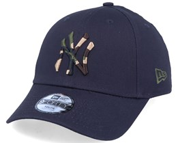 Kids New York Yankees Camo Infill 9Forty Navy/Camo Adjustable - New Era