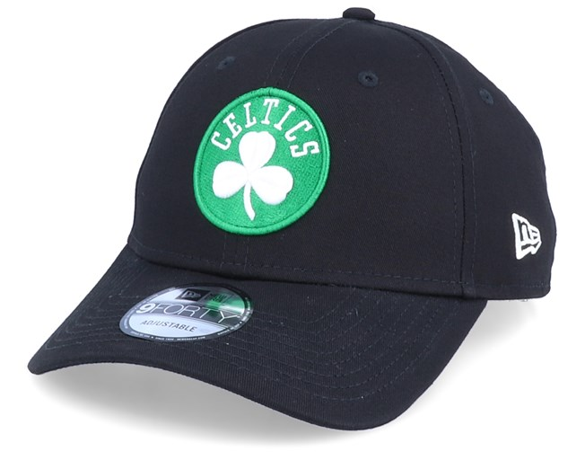 hot product best quality nice cheap Boston Celtics NBA League Essential 9Forty Black/Green Adjustable ...