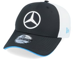 Mercedes Team Launch Replica EQ Black/White Adjustable - New Era