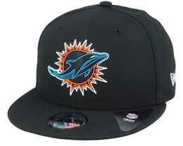 Kids Miami Dolphins NFL 20 Draft Official 9Fifty Black Snapback - New Era