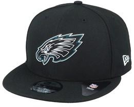 Philadelphia Eagles NFL 20 Draft Official 9Fifty Black Snapback - New Era