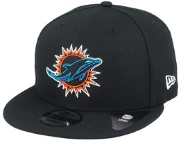 Miami Dolphins NFL 20 Draft Official 9Fifty Black Snapback - New Era
