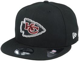 Kansas City Chiefs NFL 20 Draft Official 9Fifty Black Snapback - New Era