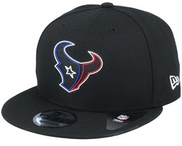 Houston Texans NFL 20 Draft Official 9Fifty Black Snapback - New Era