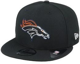 Denver Broncos NFL 20 Draft Official 9Fifty Black Snapback - New Era