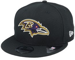 Baltimore Ravens NFL 20 Draft Official 9Fifty Black Snapback - New Era