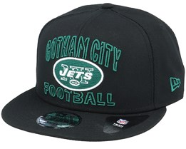 New York Jets NFL 20 Draft Alt 9Fifty Black Snapback - New Era