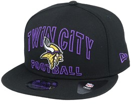 Minnesota Vikings NFL 20 Draft Alt 9Fifty Black Snapback - New Era