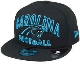 Carolina Panthers NFL 20 Draft Alt 9Fifty Black Snapback - New Era