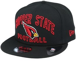 Arizona Cardinals NFL 20 Draft Alt 9Fifty Black Snapback - New Era