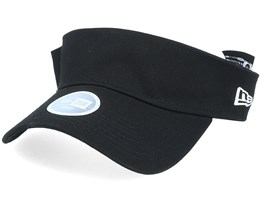 Womens Essential Black Visor - New Era