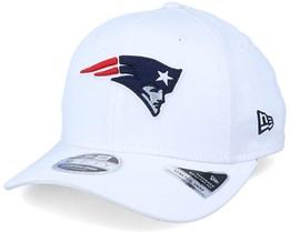New England Patriots White Base 9Fifty White Adjustable - New Era