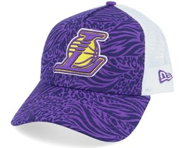 LA Lakers Hook OTC Purple/White Trucker - New Era