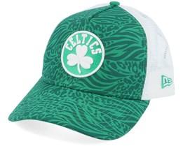 Boston Celtics Hook OTC Green/White Trucker - New Era