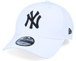 New York Yankees Tech Fabric Licensed 9Forty White/Black Adjustable - New Era