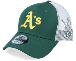 Oakland Athletics Summer League 9Forty OTC Dark Green/Yellow/White Trucker - New Era