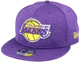 LA Lakers Shadow Tech 9Fifty OTC Purple Snapback - New Era