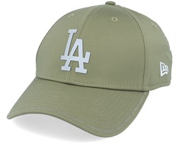 Los Angeles Dodgers Performance Fabric License 9Forty Olive/Grey Adjustable - New Era