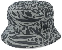 Patterned Reverseable Black Bucket - New Era