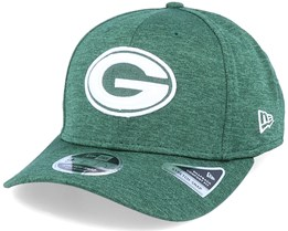 Green Bay Packers NFL Stretch Snap Green/White Adjustable - New Era