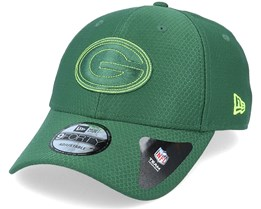 Green Bay Packers NFL 9Forty Velcro Strap Green Adjustable - New Era