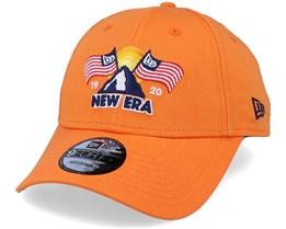 Ne Usa Patch 9Forty Orange Adjustable - New Era