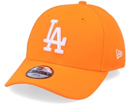 Kids Los Angeles Dodgers League Essential Pack Neon Orange - New Era
