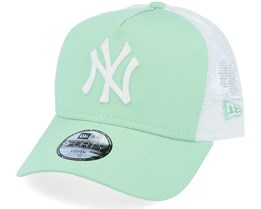 Kids New York Yankees League Essential Aqua/White Trucker - New Era