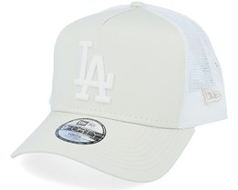 Kids Los Angeles Dodgers League Essential Stone/White Trucker - New Era