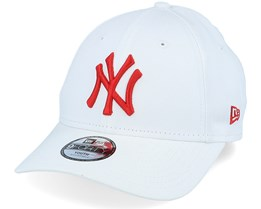 Kids New York Yankees League Essential 9Forty White/Red Adjustable - New Era