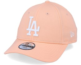 Kids Los Angeles Dodgers League Essential 9Forty Peach/White Adjustable - New Era