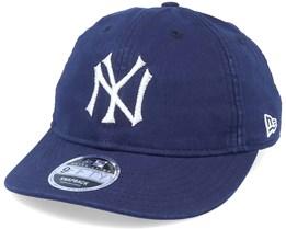 New York Yankees Indigo Retro Crown 9Fifty Navy Adjustable - New Era