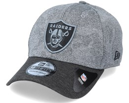 Las Vegas Raiders Engineered Plus 39Thirty Dark Grey/Black Flexfit - New Era