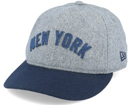 New York Yankees 9Fifty Retro Crown 1930s Heather Grey/Navy Adjustable - New Era