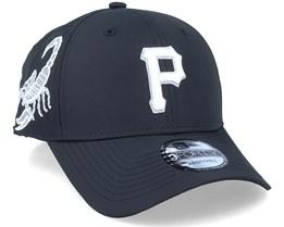 Pittsburgh Pirates 9Forty MLB Korean Black Adjustable - New Era