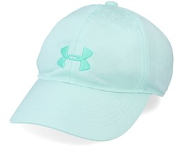 Kids Girl's Play Up Seaglass Blue/Comet Green Adjustable - Under Armour