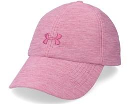 Heathered Play Up Cap Pink Quartz Dad Cap - Under Armour