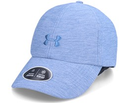 Womens Heathered Play Up Cap Mineral Blue Dad Cap - Under Armour