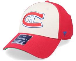 Montreal Canadiens True Classics Structured Red Adjustable - Fanatics