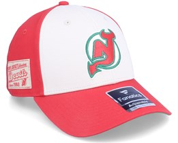 New Jersey Devils True Classics Structured Red Adjustable - Fanatics