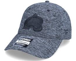 Colorado Avalanche Authentic Pro T&T Unstructured Black Dad Cap - Fanatics
