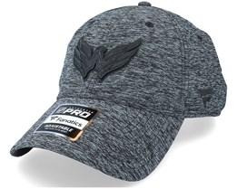 Washington Capitals Authentic Pro T&T Unstructured Black Dad Cap - Fanatics