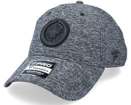 Winnipeg Jets Authentic Pro T&T Unstructured Black Dad Cap - Fanatics