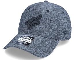 Arizona Coyotes Authentic Pro T&T Unstructured Black Dad Cap - Fanatics