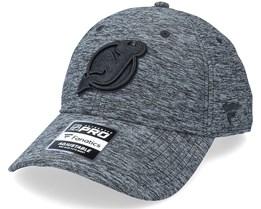 New Jersey Devils Authentic Pro T&T Unstructured Black Dad Cap - Fanatics