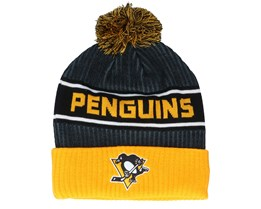 Pittsburgh Penguins Authentic Pro Locker Room Black/Yellow Pom - Fanatics