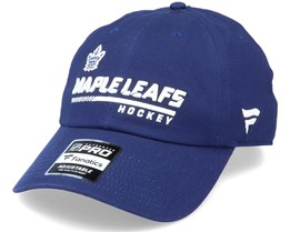 Toronto Maple Leafs Authentic Pro Locker Room Dad Cap Blue Adjustable - Fanatics