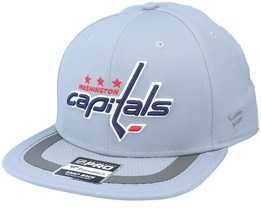 Washington Capitals Authentic Pro Home Ice Grey Snapback - Fanatics
