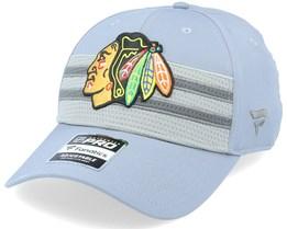 Chicago Blackhawks Authentic Pro Home Ice Grey Adjustable - Fanatics